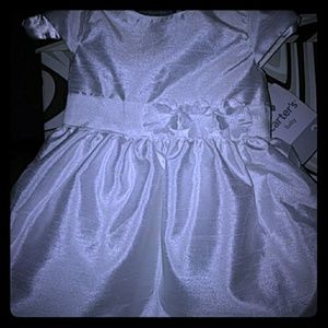 Carter's Baby (3 month) white formal dress NWT